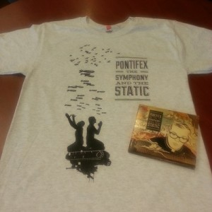 Ash Shirt CD Combo